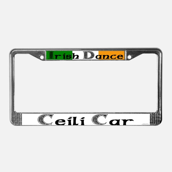 Ceili Car - License Plate Frame