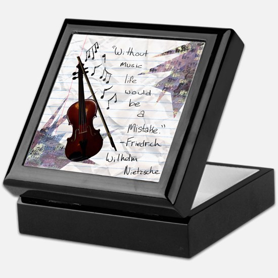 Viola Keepsake Box