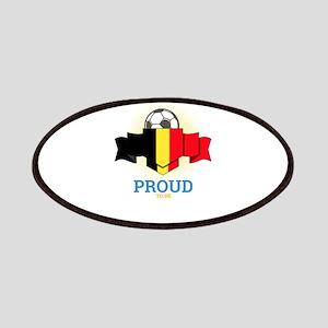 Football Belgians Belgium Soccer Team Sports Patch