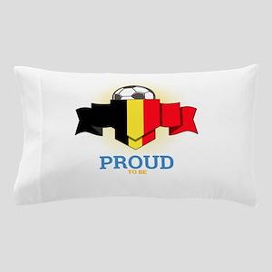 Football Belgians Belgium Soccer Team Pillow Case