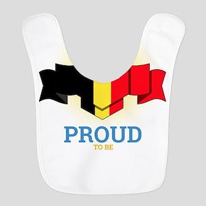 Football Belgians Belgium Socce Polyester Baby Bib