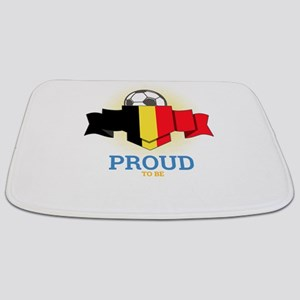 Football Belgians Belgium Soccer Team Spor Bathmat