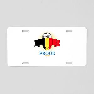Football Belgians Belgium S Aluminum License Plate