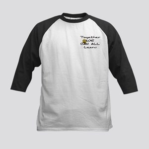 Together We Can All Learn Kids Baseball Jersey