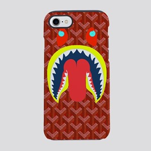 shark woven iPhone 7 Tough Case