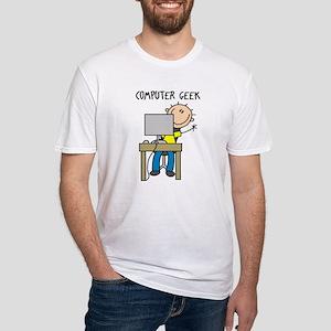 Computer Geek Fitted T-Shirt