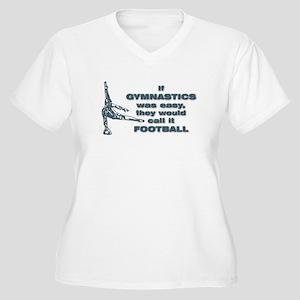 gym dude Women's Plus Size V-Neck T-Shirt