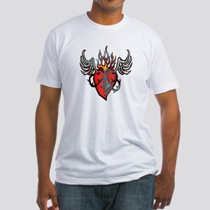 Sacred Heart Fitted T-Shirt