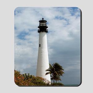 Cape Florida Lighthouse Mousepad