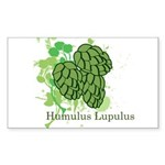 Humulus Lupulus II Rectangle Sticker