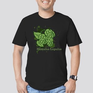 Humulus Lupulus II Men's Fitted T-Shirt (dark)