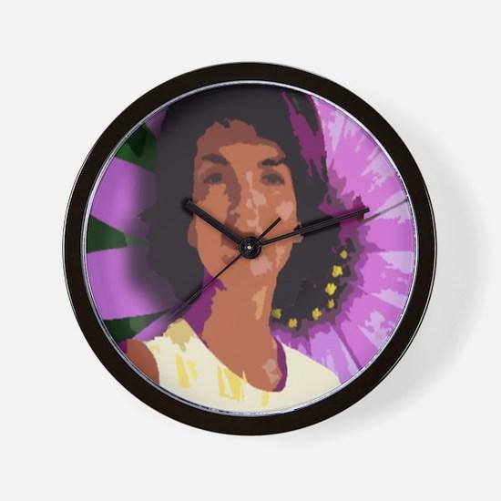 Jackie Oh! Daisy Wall Clock