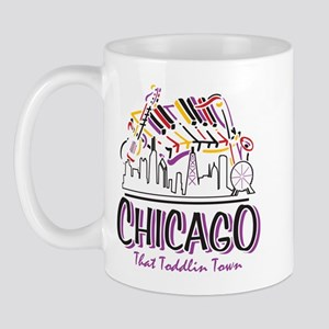 Chicago That Toddlin Town Mug
