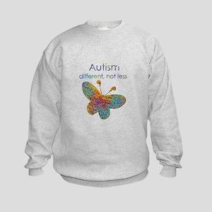 Autism: different, not less Sweatshirt