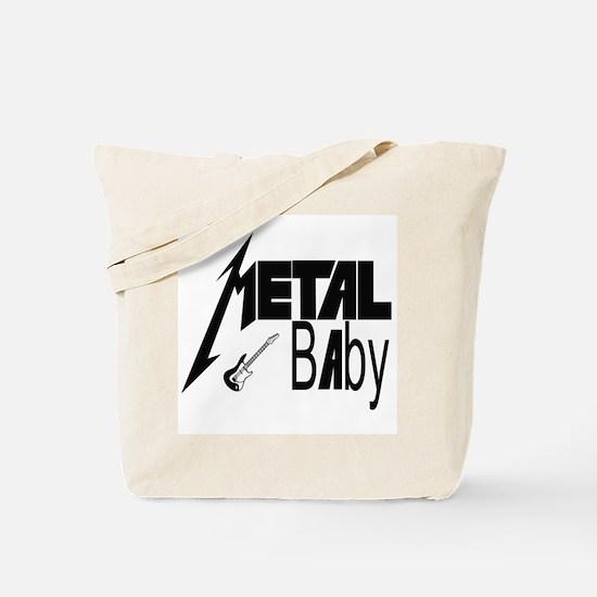 Oh Baby! Metal Rock Tote Bag