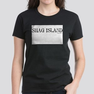 SHAG ISLAND Women's Dark T-Shirt