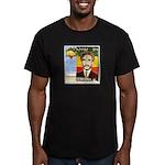 Haile Selassie I Men's Fitted T-Shirt (dark)