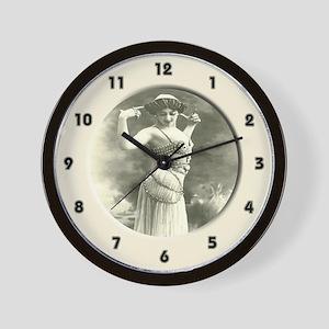 Dancing Beauty Wall Clock