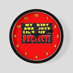 Perfect Like Me Wall Clock