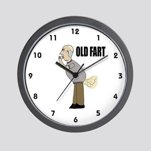 Old Fart Wall Clock