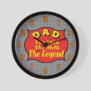 My Dad Wall Clock