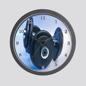 Weight Lifting Wall Clock