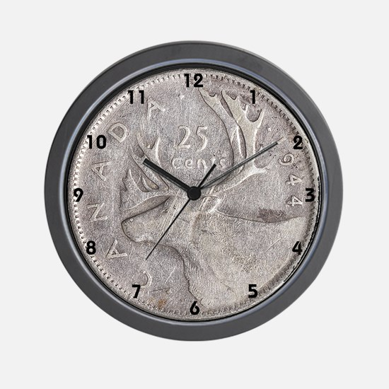 Canadian Coin Wall Clock