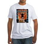 Lion of Judah 5 Fitted T-Shirt