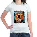 Lion of Judah 5 Jr. Ringer T-Shirt