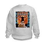 Lion of Judah 5 Kids Sweatshirt