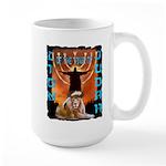 Lion of Judah 5 Large Mug