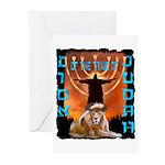 Lion of Judah 5 Greeting Cards (Pk of 10)