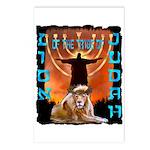Lion of Judah 5 Postcards (Package of 8)