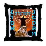Lion of Judah 5 Throw Pillow