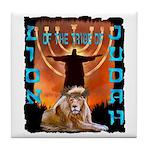 Lion of Judah 5 Tile Coaster