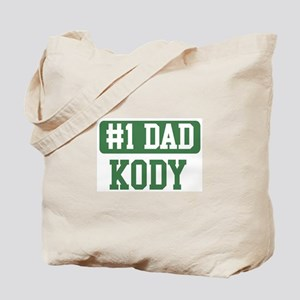 Number 1 Dad - Kody Tote Bag