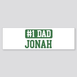 Number 1 Dad - Jonah Bumper Sticker