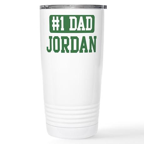 Number 1 Dad - Jordan Stainless Steel Travel Mug