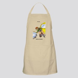 funny bicycle courier gift me BBQ Apron