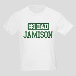Number 1 Dad - Jamison Kids Light T-Shirt