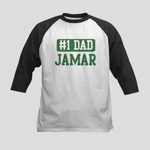 Number 1 Dad - Jamar Kids Baseball Jersey
