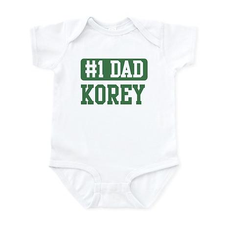 Number 1 Dad - Korey Infant Bodysuit