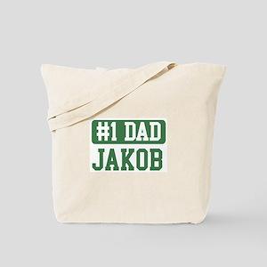 Number 1 Dad - Jakob Tote Bag