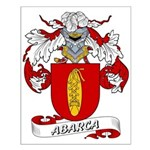 Abarca Coat of Arms Small Poster