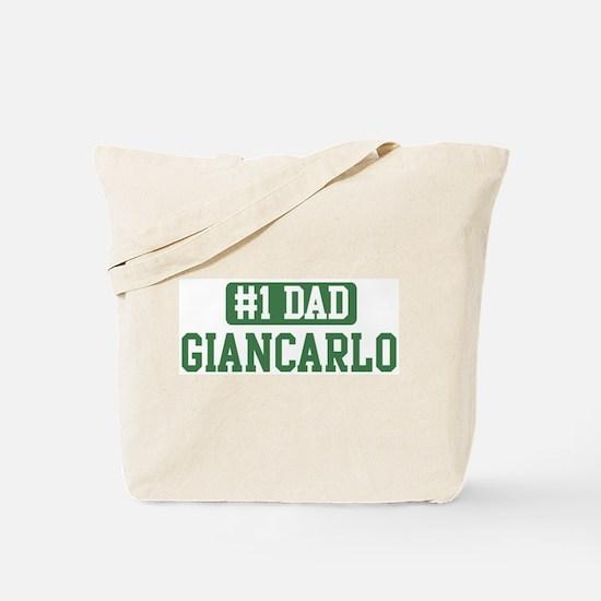 Number 1 Dad - Giancarlo Tote Bag