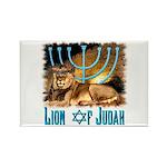 Lion of Judah 3 Rectangle Magnet