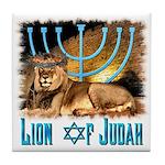 Lion of Judah 3 Tile Coaster