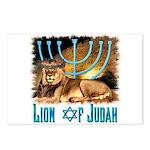 Lion of Judah 3 Postcards (Package of 8)