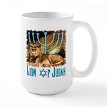 Lion of Judah 3 Large Mug