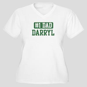Number 1 Dad - Darryl Women's Plus Size V-Neck T-S